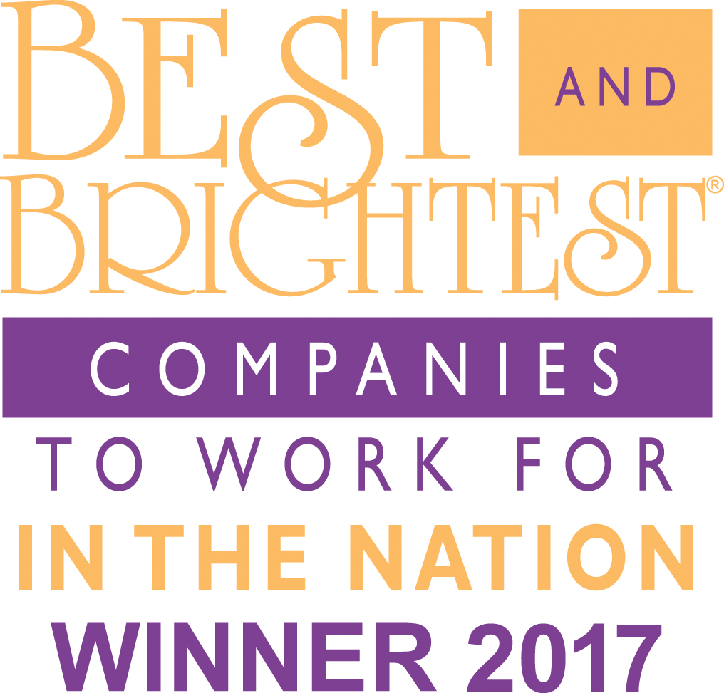 Best and Brightest Companies to Work for in the Nation Winner 2017 Logo