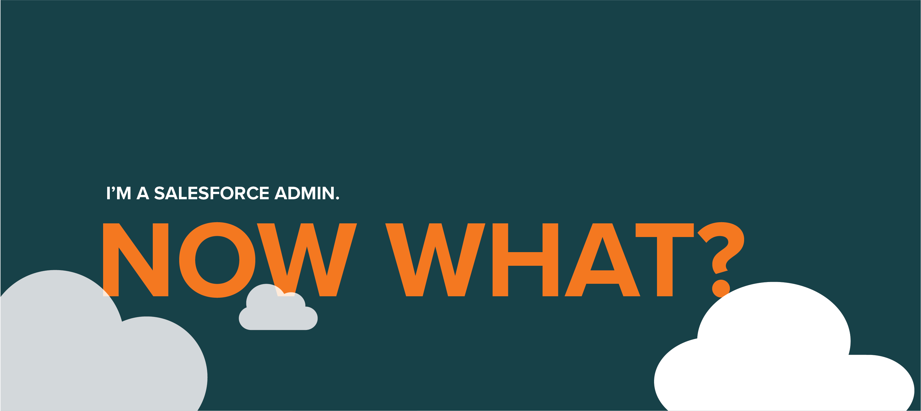 So You're A New Salesforce Admin     What's Next? - Statêra