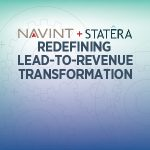 Navint + Statera.  Modernizing Lead-to-Revenue Business Operations.